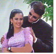 Akhila and Darshan in Neenandre Ista
