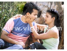 Sunil Rao and Ashita Krishna in film Baa Baaro Rasika