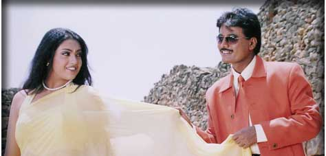 Meena and Shivaram in film Game
