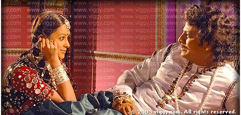 Anita and Shivarajkumar in Gandugali Kumararama