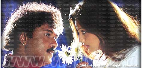 Ravichandran and Priyanka in film Malla