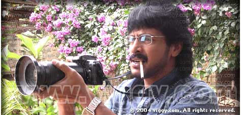 Actor Upendra in film 'News'