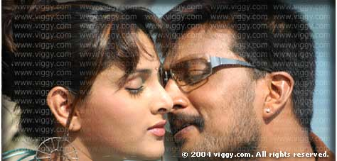Sudeep and Ramya in film Ranga (SSLC)