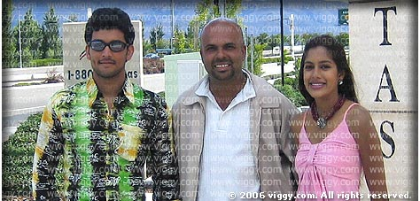 Diganth, Sundeep Malani and Janu Arasu
