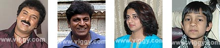 Winners of State Awards 2005-06  - Ravichandran, Shivarajkumar, Pavitra Lokesh, Master Kishan